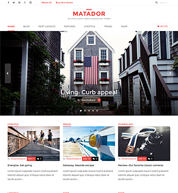 Matador WordPress Theme