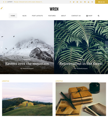 Wren WordPress Theme